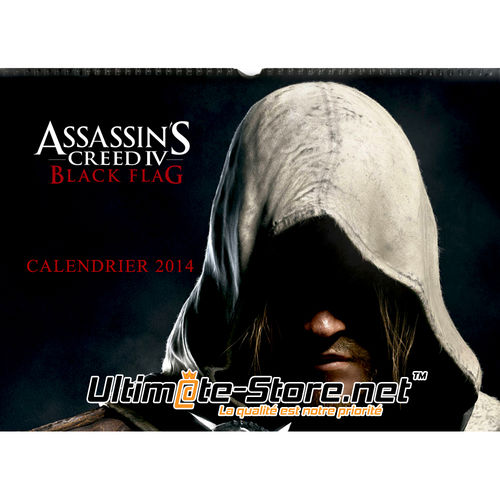 Calendrier Assassin's Creed IV Black Flag 2014 (Neuf)