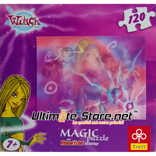 Magic Puzzle Witch – 120 pièces – 25 x 20 cm