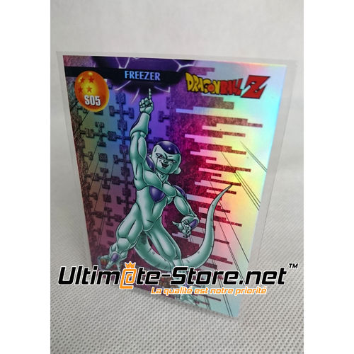 Carte DBZ Rare PRISM S05 - Dragon Ball Série 1 (Neuf)