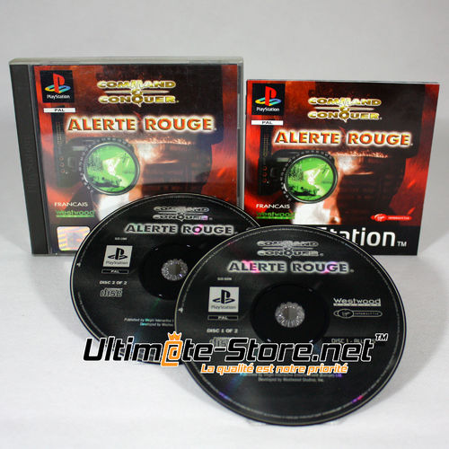 COMMAND & CONQUER ALERTE ROUGE - PS1